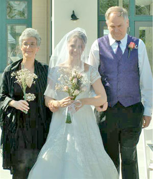 Picture of Mirandas wedding