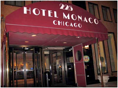 The hotel monaco chicago review the little gem down the for Hotel monaco chicago