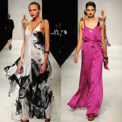 Lisa Ho Spring 2009 Collection Review - One Stop Shopping :  magazine sophie monk olivia newtonjohn goddess gowns