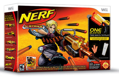 Nerf n strike game review for the wii blast off splash magazines