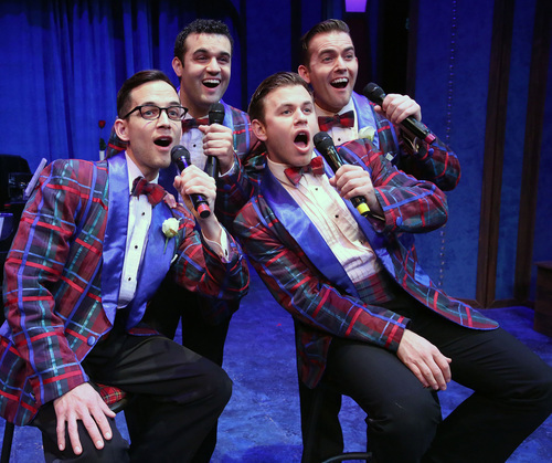 reliving the magic of the 50s in forever plaid by stuart ross What ''forever plaid,'' which is written and directed by stuart ross and is being  presented in its premiere by the american stage company,.