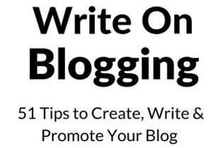 Book Review: Write On Blogging - Your Strategy in a Bottle