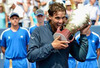 Moët & Chandon - toasts this years champions, Rafael Nadal and Victoria Azarenka
