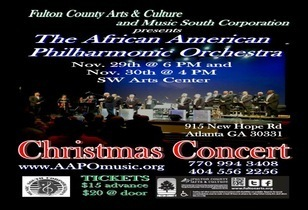 Jazz Legendary John T. Peek - The African American Philharmonic Orchestra Will Perform Christmas Concerts and More