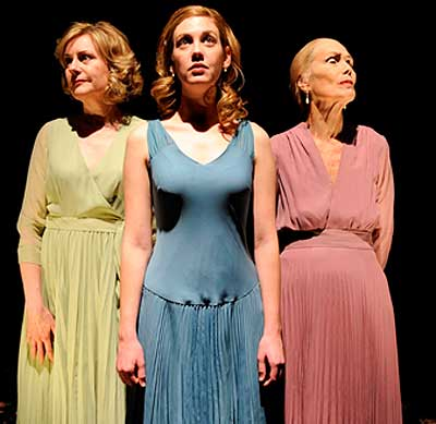 the portrayal of the life of a woman in three tall women by edward albee Three tall women by edward albee  old woman lies dying, tended by 2 other women, she remembers the fun of her childhood, an early marriage and the optimism of .