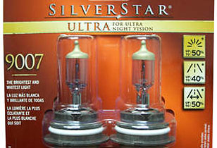 SYLVANIA SilverStar(R) ULTRA headlights