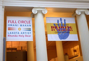 Works of Rhonda Holy Bear and Chris Pappan Review - Two Complementary Exhibitions at the Field Museum
