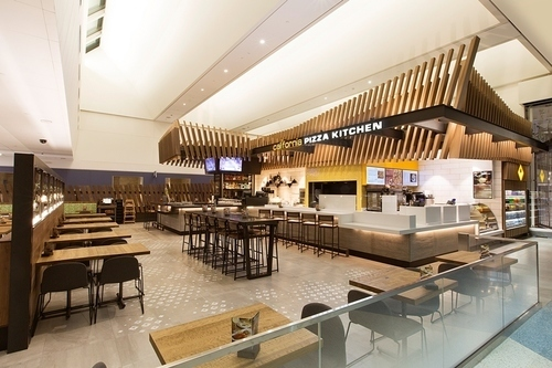 lax dining options california pizza kitchen is leading an airport