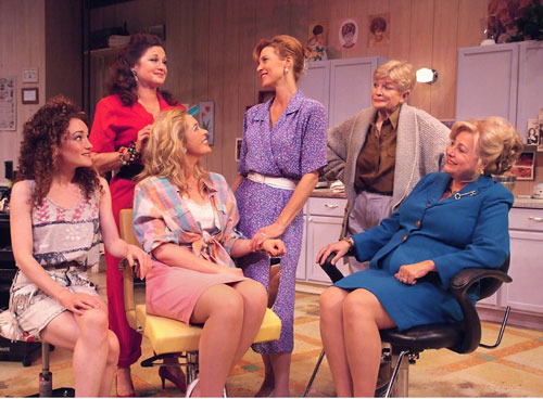 steel magnolias theater review This comedy-drama is set in truvy's beauty salon in chinquapin, la, where all  the ladies who are anybody have their hair done as they face.