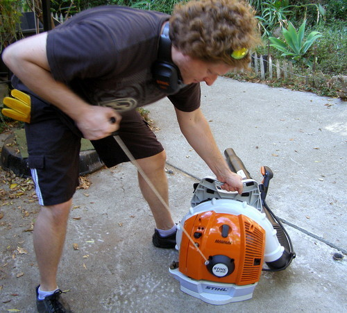 Stihl Br600 Magnum Blower Review The Cadillac Of Blowers