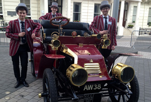 Re-enacting the 1896 Horseless Carriage Exhibition  Review - 120 years on