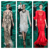 Monique Lhuillier Fall 2013 Collection Review - The Glamour of Mother Nature