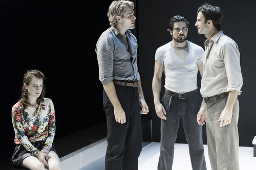 """an interpretation of a view from the bridge a play by arthur miller For some time after i saw the director ivo van hove's interpretation of arthur  miller's 1956 play """"a view from the bridge"""" (at the lyceum), i found."""