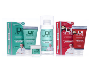 Dr. Sharp Natural Oral Care Safe for the Whole Family!