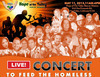 "We Care for Humanity and Hope - May 11, 2013 ""Concert to Feed the Homeless"""