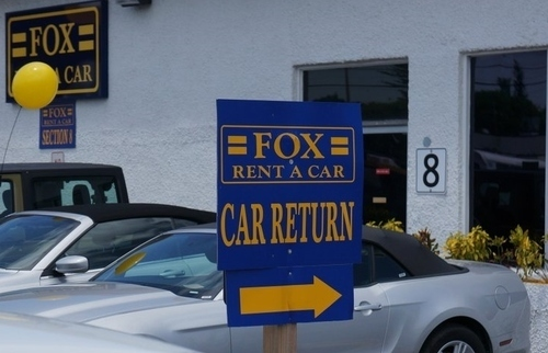 Fox rental car orlando airport reviews