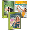 Three new Yoga DVDs from Gaiam Review - Gwen Lawrence, Trudie Styler and Seane Corn