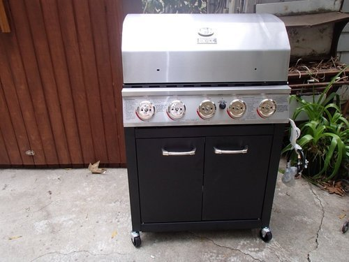 backyard grill 5 burner gas grill review the stainless steel king