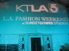L.A. Fashion Weekend at Sunset Gower Studios Day 3 - Broadcast Live on KTLA