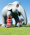 "ELEPHANT PARADE ART EXHIBITION REVIEW - with 32 WOWs, and One ""Ooh-La-La"""