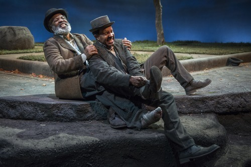 waiting for godot characterization What do you think is the most effective way that beckett presents repetition in waiting for godotif the play is meant as a representative sample of what happens every night in the lives of vladimir and estragon, why does beckett choose to present two acts instead of three, or one.