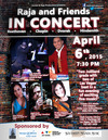 Raja & Friends Performance  - Benefits Make-A-Wish Southern Nevada on April 6