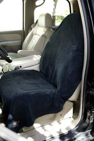 NeatSeat seat cover keeps car seats dry and clean