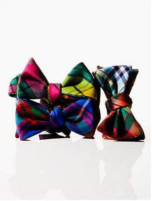 Authentic Scottish Tartan Bow Ties