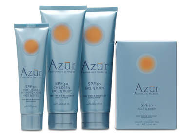 Azur's Full Line of Products