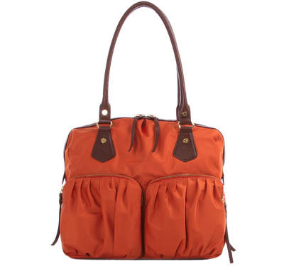 Bedford Nylon Jane - Orange with Brown