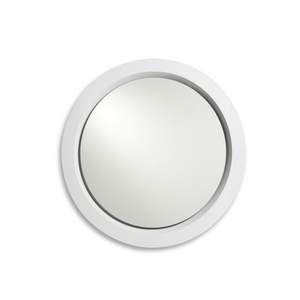 Portal Mirror in Gloss White