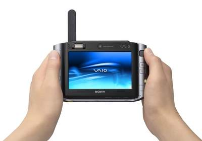 VAIO UX with hands