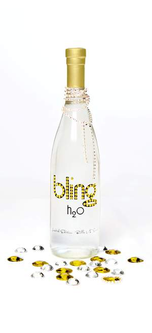 Bling Yellow Bottle
