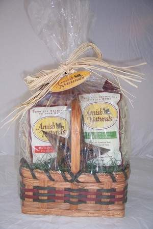 Indulge in authentic Amish flavors with an Amish Naturals' Flavor Basket.
