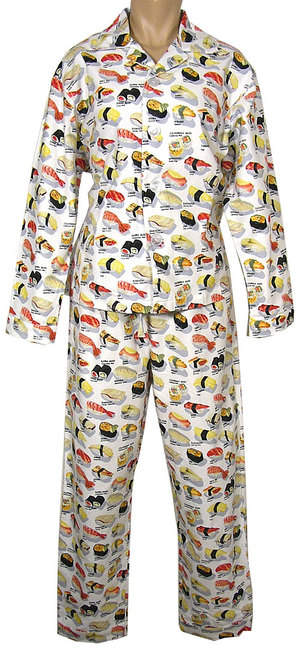 White Sushi Pajamas