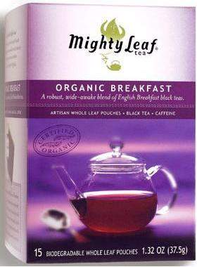 Mighty Leaf's Organic Breakfast Tea