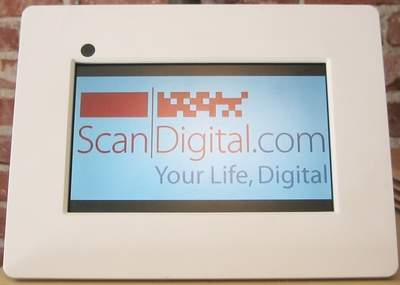 Digital Photo Frame by ScanDigital