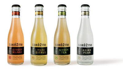 Sake2Me Bottle Lineup