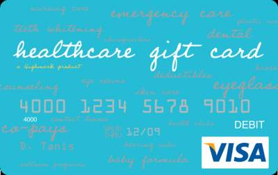 Healthcare Gift Card
