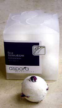 Aspara Aromatics Tea Zensation Bath Baubles