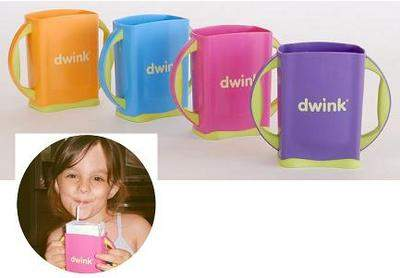 Dwink box comes in 4 fun colors!