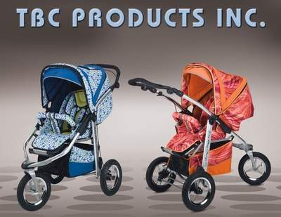 DuCaribbean Peacock and Painted alsy Pink dual direction (ATS) Stroller System
