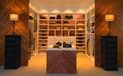 A beautiful, modern cedar closet might surprise Mom.