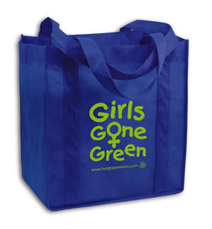 Girls Gone Green Reusable Shopping Tote