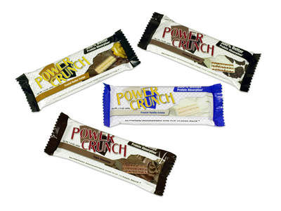 Power Crunch Creme-filled protein wafers