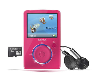 Fuze portable music&video player for mom!