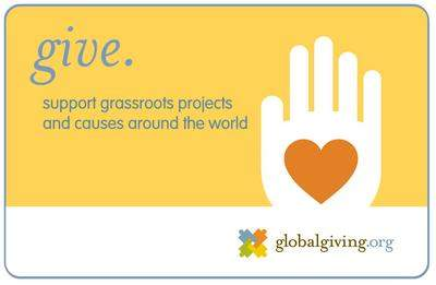 Support Causes around the world with the GlobalGiving Gift Card
