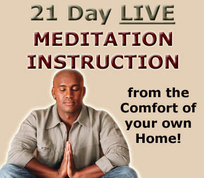 Live Meditation Instruction from Home