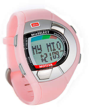 MIOPink MOTIVA fitness watch