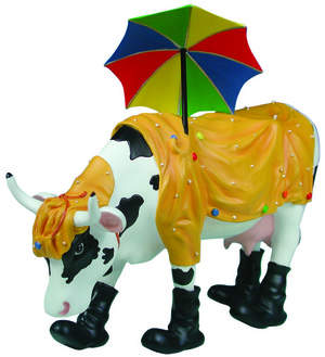 Mooing in the Rain